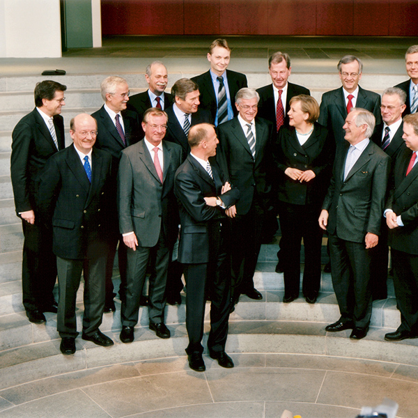 "2006: Treffen der ""Partner für Innovation"" mit Bundeskanzlerin Dr. Angela Merkel