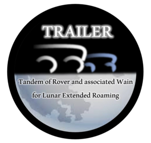 Tandem of Rover and Associated Wain for Lunar Extended Roaming