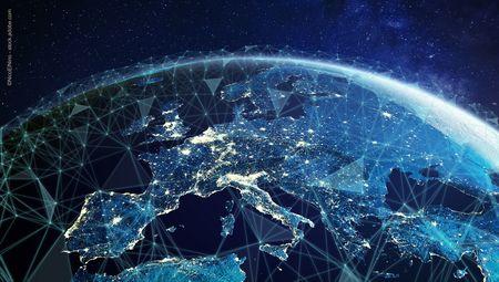 Visualisierung eines vernetzten Globus