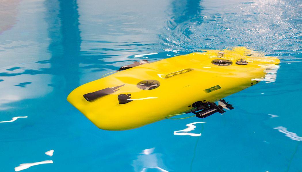 Unterwasserroboter im Projekt Mare-IT