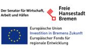 Land (KI-Staging wird mit Mitteln des Europäischen Fonds für regionale Entwicklung (EFRE) sowie des Landes Bremen gefördert)