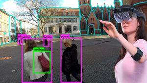 Visuelles robustes räumliches Szenenverständnis in dynamischen Umgebungen unter Verwendung von intermediären Darstellungen