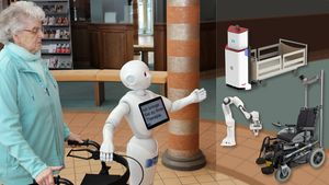 Intuitive-nonverbal and informative-verbal robot-human communication
