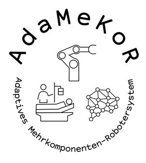 AdaMeKoR project part: Robotic arm assistance system and integrated robotic concepts for patient transfer