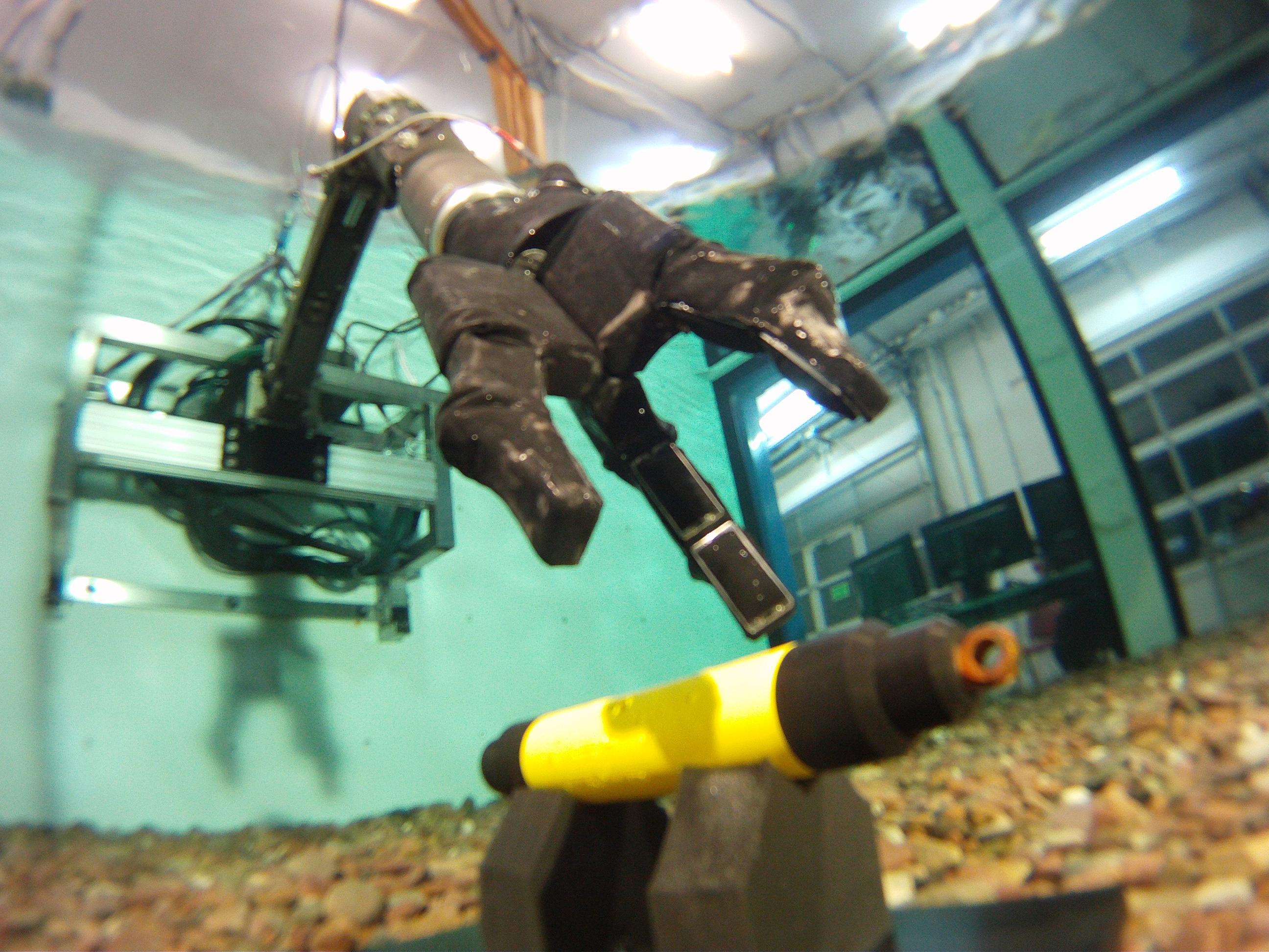 Taktiles Greifersystem für die Tiefsee als Ausgangssystem für Force Feedback bei der Teleoperation