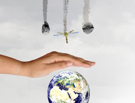 Visualization: Protection of the earth