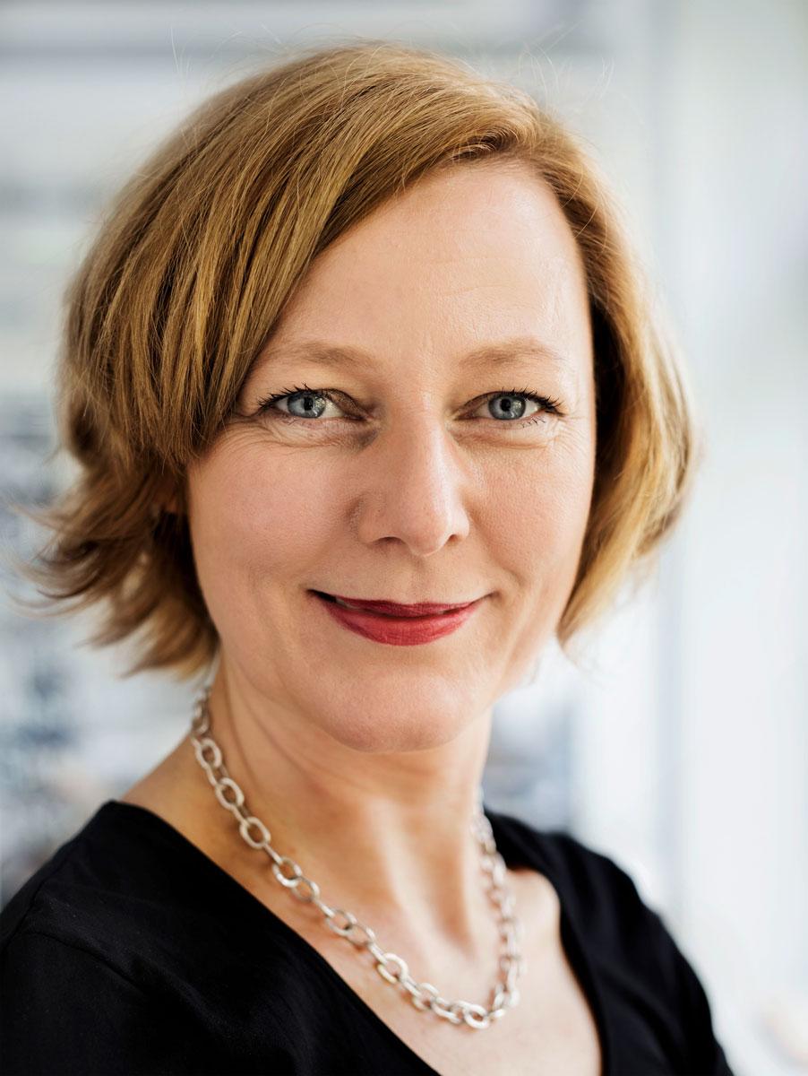 Portraitbild Prof. Dr. Gesche Joost –Bildquelle: Universität der Künste Berlin