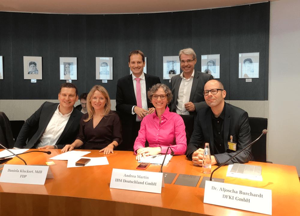 Enquete-Kommission KI - kleine Gruppe