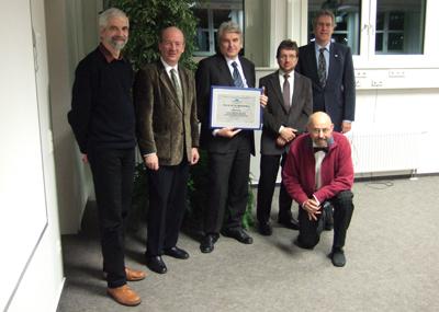 Dr. Dieter Hutter, Prof. Dr. Wolfgang Wahlster, Prof. Dr. Manfred Broy  (Technische Universität München), Dr. habil. Werner Stephan,  Prof. Dr. Jörg Siekmann, Dr. Walter Olthoff