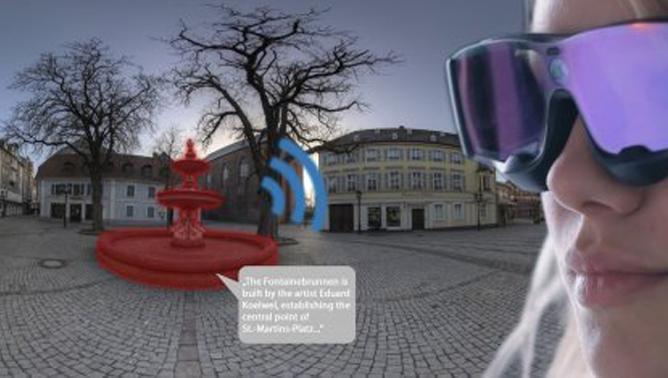 DFKI-Projekt Talking Places