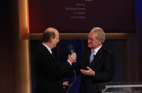 Deutscher Zukunftspreis - Verleihung 2001