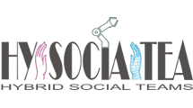 Hybrid Social Teams for Long-Term Collaboration in Cyber-Physical Environments