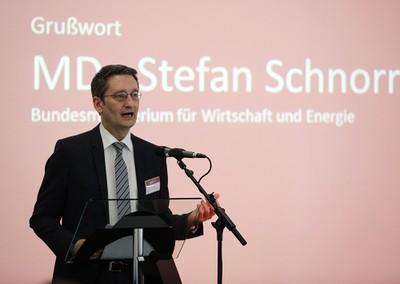 MDir Stefan Schnorr bei seiner Eröffnungsrede