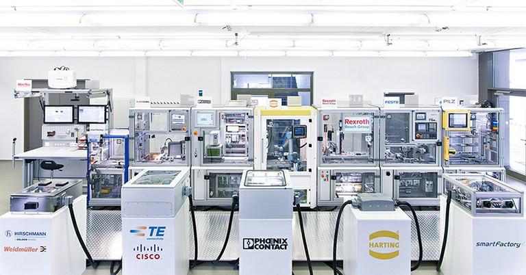 Die gesamte Industrie 4.0-Anlage im Überblick