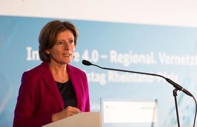 Malu Dreyer während Ihrer Ansprache