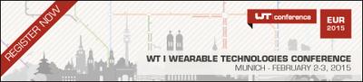 Banner zur Wearable Week 2015