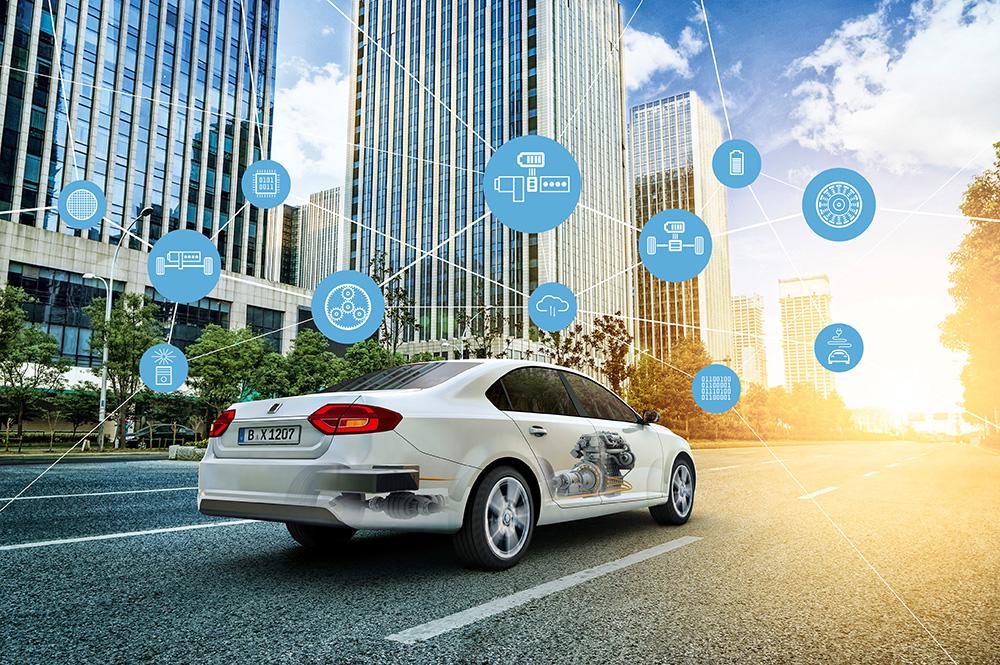 Visualisierung von KI-Technologien im Fahrzeug