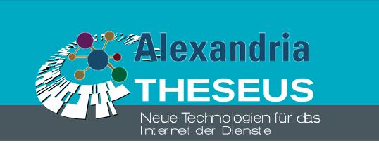 Logo: Förderprogramm THESUEUS Alexandria